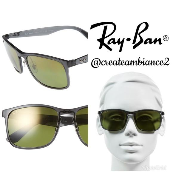 6823127f86 Ray-Ban 62mm Polarized Wayfarer Sunglasses